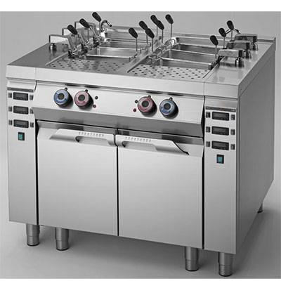 Pasta Cooker With Auto Lifting - 2 Tanks