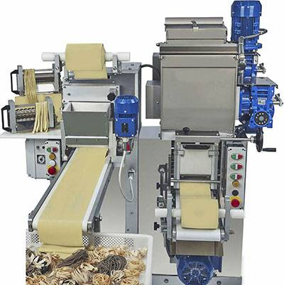 AUTOMATIC COMBINED FOR LAMINATED PASTA - TECH-KT160S