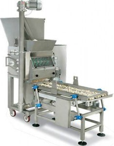 Machine industrielle gnoccatrices pour production de gnocchi